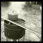 polenta pot, open field style